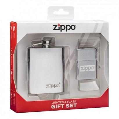ZIPPO dárková sada zapalovač + placatka