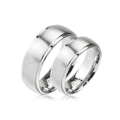 Snubní prsteny chirurgická ocel HK1454