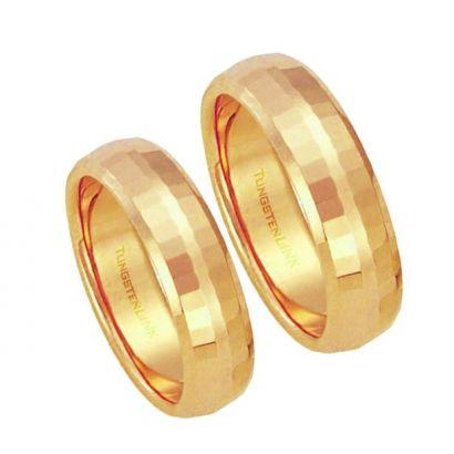 Snubní prsteny wolfram 1 pár RTS32gold