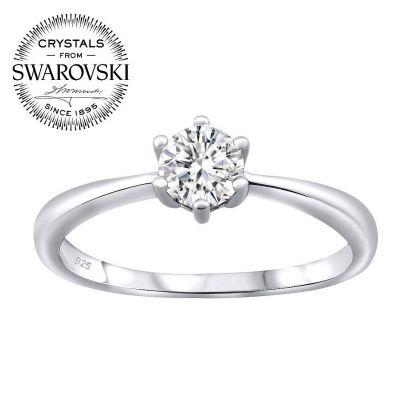 Stříbrný prsten SOPHIA se Swarovski(R) Crystals