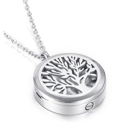 Náhrdelník - pamětní přívěsek, pietní přívěsek, přívěsek na popel strom života