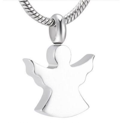 Náhrdelník - pamětní přívěsek, pietní přívěsek, přívěsek na popel anděl