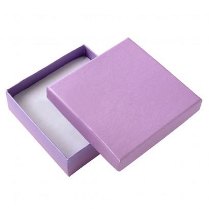 Dárková krabička - perleťově fialová