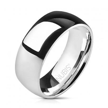 Prsten chirurgická ocel, šíře 8 mm (54)