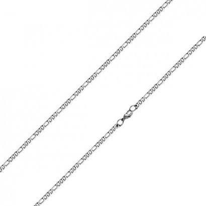 Ocelový řetízek figaro tl. 3 mm (45 cm, 3 mm)