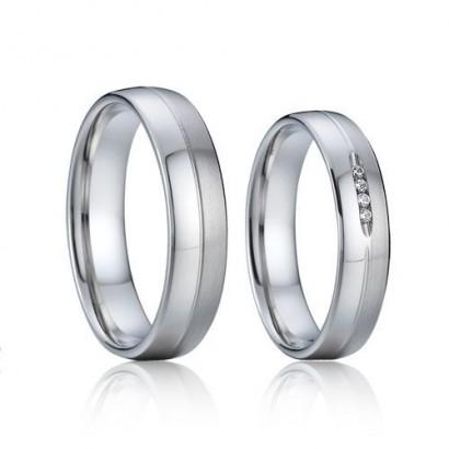 AN1011 Snubní prsteny chirurgická ocel - pár