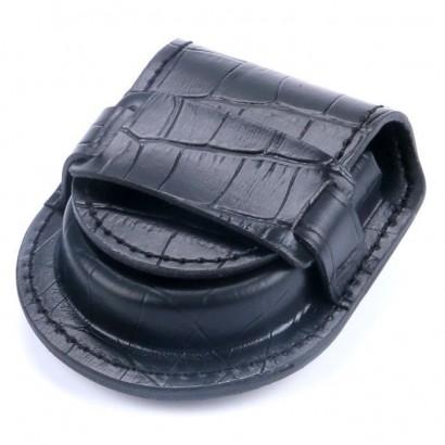 Kapsička na kapesní hodinky černá