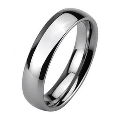 Wolframový prsten, šíře 6 mm (47)
