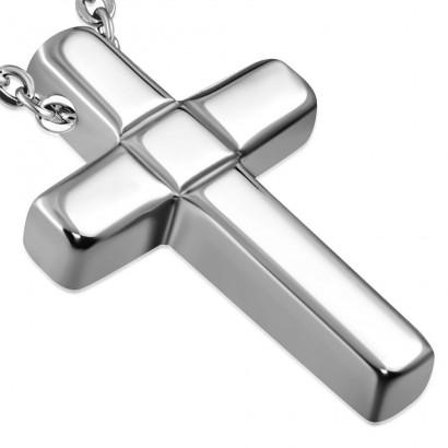 Wolframový přívěsek - kříž