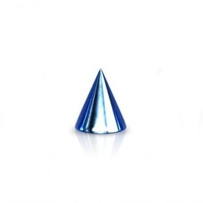 Náhradní modrá ocelové špička 1,2 mm - kónus 3x3 mm
