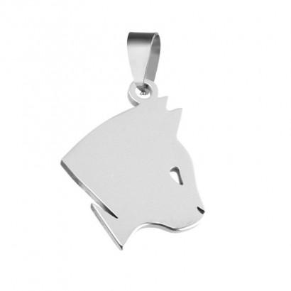 Ocelový přívěsek kočka