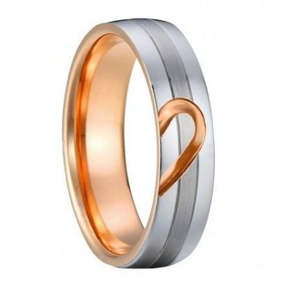 AN1013 Pánský snubní ocelový prsten (59)