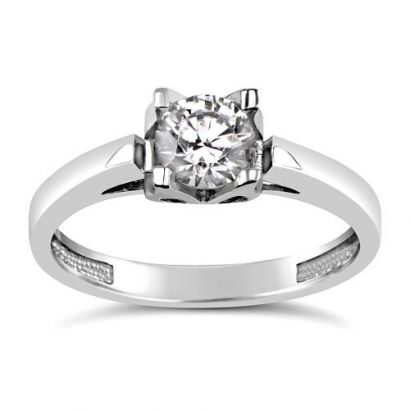 Stříbrný prsten se Swarovski® Crystals